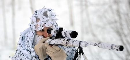 X3M1 3-D Poncho med hette, vinter