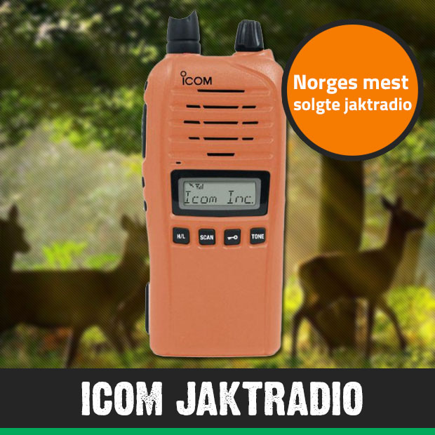 Icon jaktradio