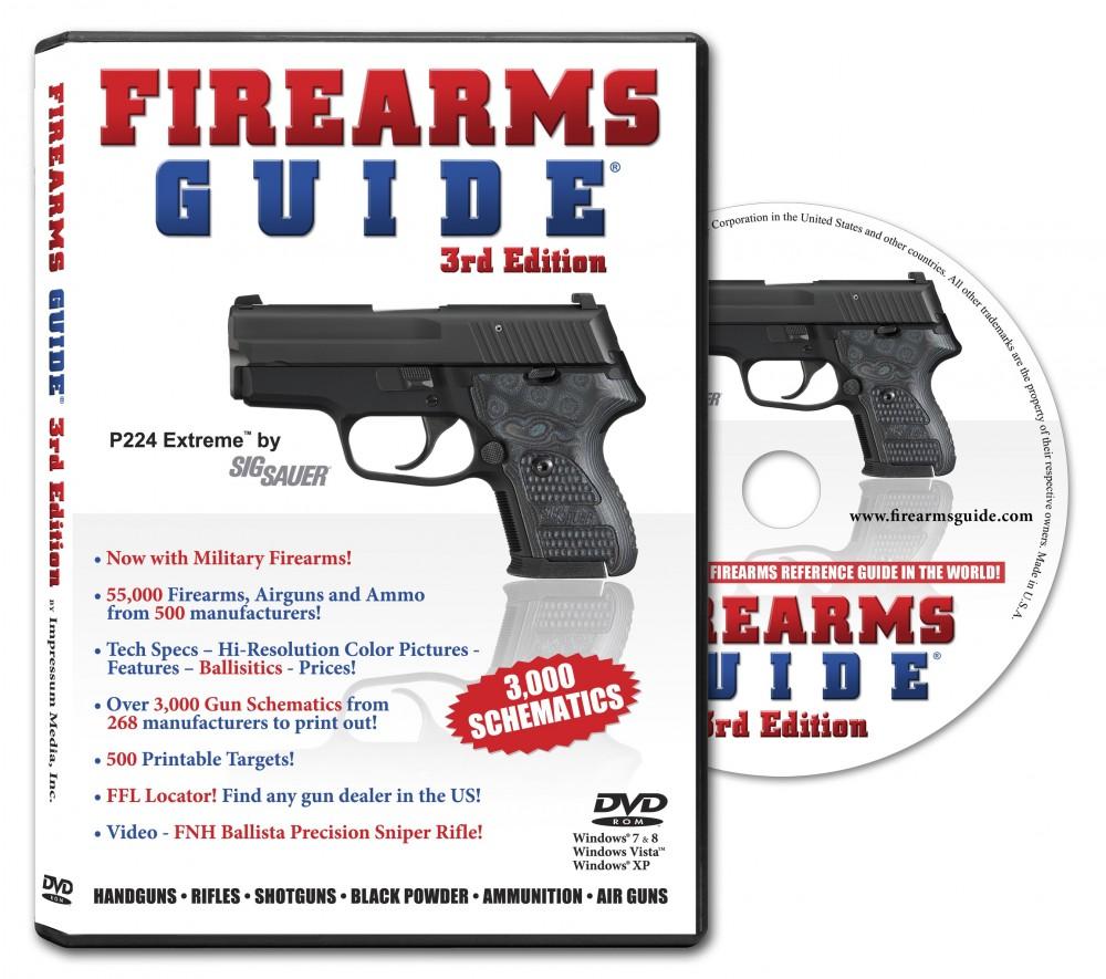 Firearms Guide 3rd Edition Mac, inkl  500 utskriftsbare blinker/måltavler