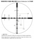 Vortex Crossfire II 3-9X50 Dead-Hold BDC (MOA) Reticle  1 inch Tube thumbnail