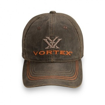 Vortex Weathered caps, brunt lær