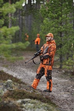 Jahtijakt Moosehunter Jaktdress oransje/ camo