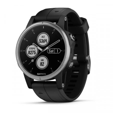 Garmin fenix 5S Plus Sølv