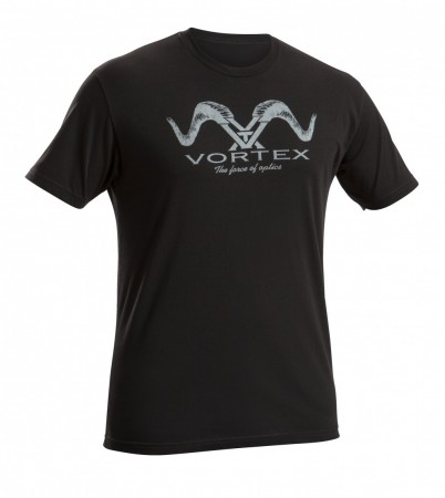 Vortex Ram Horn Black T-Shirt
