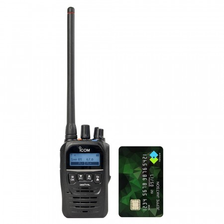 Icom Prohunt D52 Digital Jaktradio