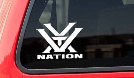 Vortex Nation Window Decal